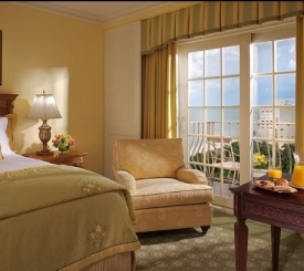 Coastal view guestroom at The Ritz-Carlton, Naples