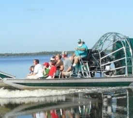 Awesome Airboat Ride