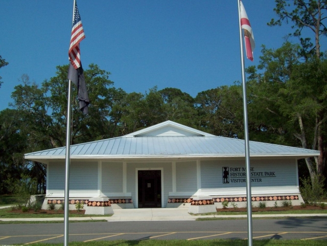 Visitor Center at Fort Mose Historic State Park
