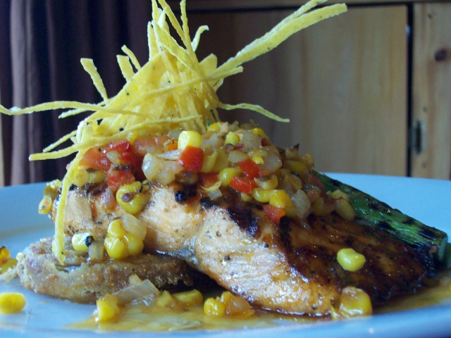 Chef Irv Miller's Grilled Salmon