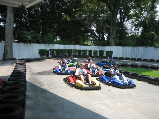 Racing Fun on SuperKart Speedway!