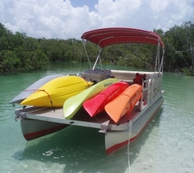 Kayak Transport Guide boat