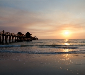 Naples Pier.  Photo courtesy Naples Marco Island Everglades CVB