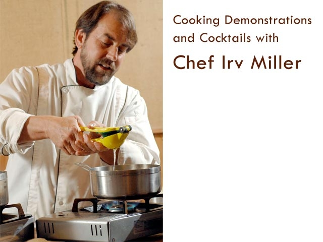 Cooking Classes with Chef Irv Miller