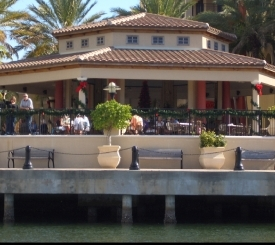 CJ's on the Bay Outside Gazebo Bar - Pet Friendly!