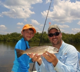 Redfish make kids happy!