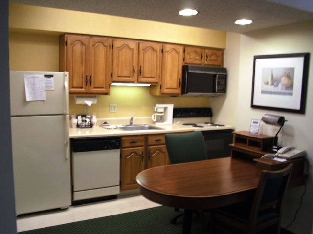 Each Suite features a FULL KITCHEN for that feeling of HOME