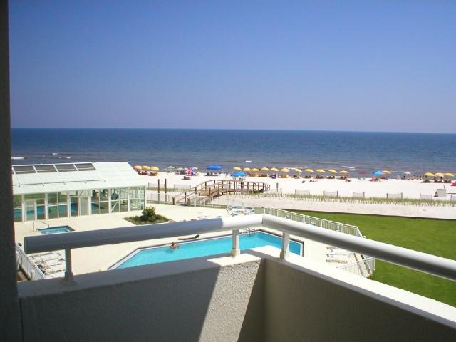 View from a Perdido Sun condo balcony.  This one is condo 316.