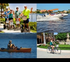 Segway Tours, Boat Rentals, Kayak and Paddleboard Rentals, Bike Rentals