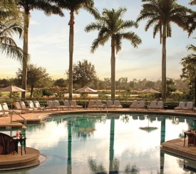 Poolside at The Ritz-Carlton Golf Resort, Naples