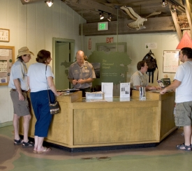 Everglades National Park Gulf Coast Visitor Center is open Year Round