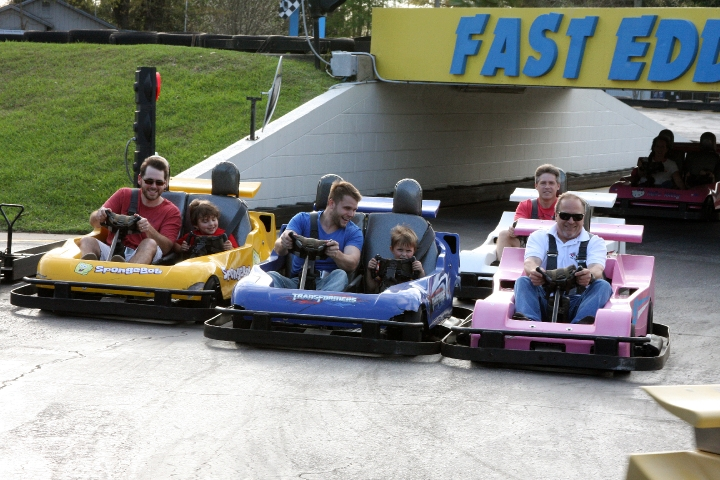 There's fun at every turn and for all ages at Fast Eddies Fun Center!