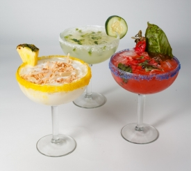 Enjoy one of our Signature Margaritas