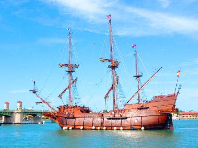 El Galeón at the St. Augustine Municipal Marina