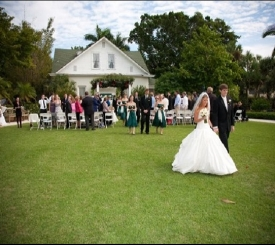 Memorable Wedding at Historic Palm Cottage.
