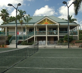 Arthur L. Allen Tennis Center at Cambier Park