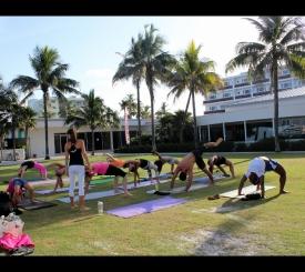 Yoga Fitness Class