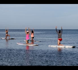 Paddleboard Yoga and Fitness Class