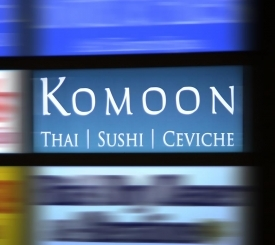 Komoon Thai Sushi and Ceviche Restaurant
