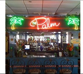 Tropical Palm Cafe