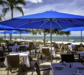 HB's on the Gulf features an outdoor patio with beautiful views of the Gulf