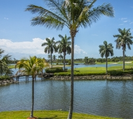 View from the 5th hole on the Flamingo Island course