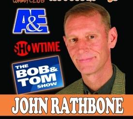 Comedian John Rathbone