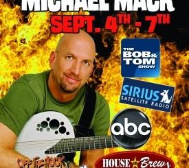 Comedian Michael Mack