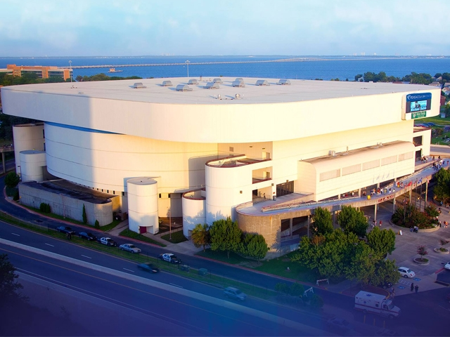 Pensacola Bay Center, managed by SMG