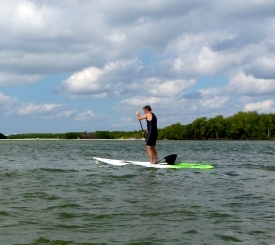 Stand up paddle boarding is great fun for everyone!