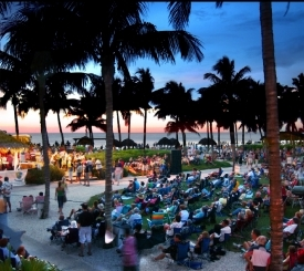 Summer Jazz on the Beach at Naples Beach Hotel