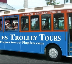 Naples Trolley Tours daily sightseeing