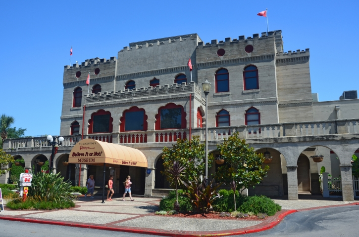 RIPLEY'S BELIEVE IT OR NOT! ORIGINAL MUSEUM is at 19 San Marco Ave. The museum of oddities and curiosities opened here in 1950.