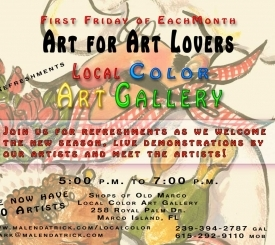 First Friday's for Art Lovers