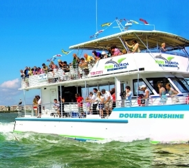 Sightseeing, River & Sunset Cruises on the M/V Double Sunshine!