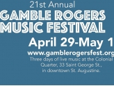 22nd Annual Gamble Rogers Music Festival