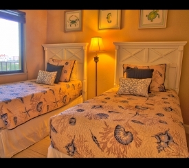 Guest Room With Two Twin Beds and Full Attached Bathroom