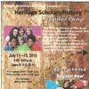 2016 Heritage Scholars Summer Camp
