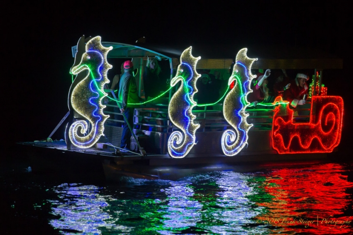Marco Island Christmas Island Style Boat Parade