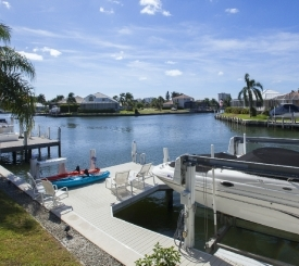 Dock at 410 Edgewater Ct, Marco Island, FL
