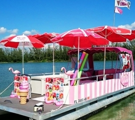 "In The Pink ""Ice Cream Boat"""