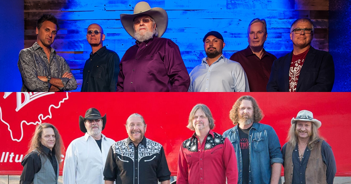 The Charlie Daniels Band, The Marshall Tucker Band and the Jack Michael Band
