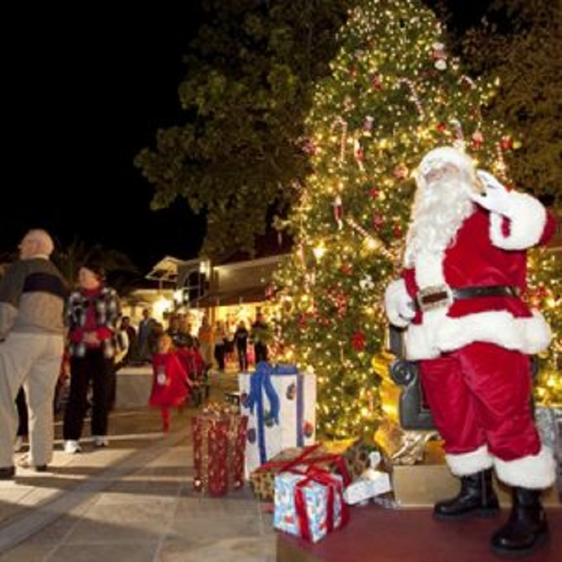 Grand Illuminations Tree Lighting Ceremony at Venetian Village