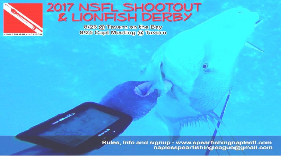 2017 Naples Spearfishing League Tournament & Lionfish Derby