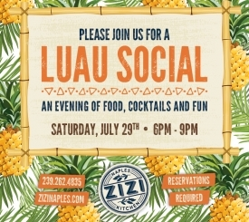 Luau Social at Zizi Naples Kitchen