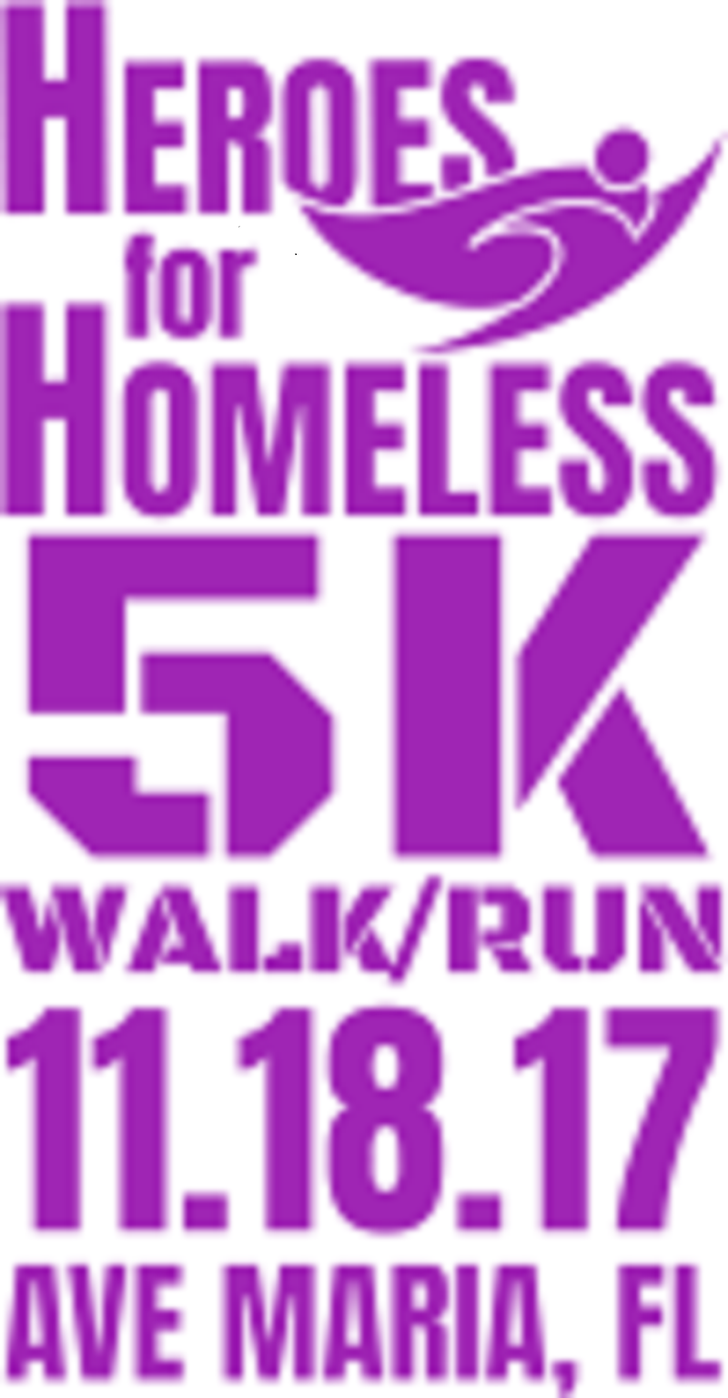 Heroes for Homeless 5K Race in Ave Maria