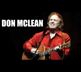 Don McLean October 14th 2017