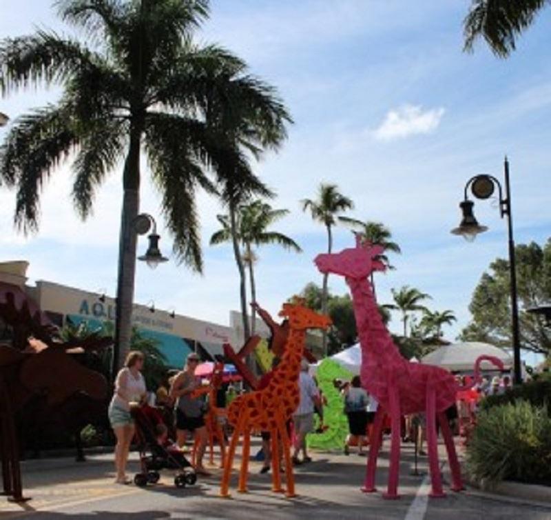 Downtown Naples New Year's Art Fair