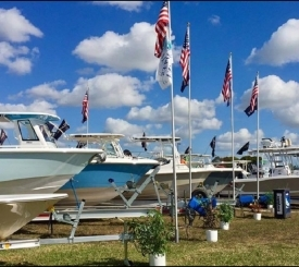 Naples Boat Show at Naples Municipal Airport
