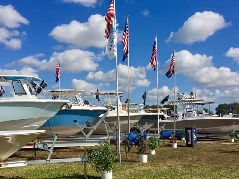 Naples Boat Show at Naples Municipal Airport